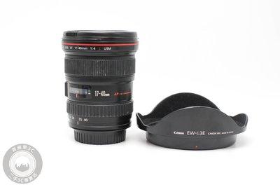 【台南橙市3C】Canon EF 17-40mm f4 L USM UZ鏡 二手鏡頭 中古鏡頭 #59575