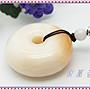 【家蓁香二館】 頂級 海南天然天然玉化『紫料硨磲』平安如意平安扣麵包圈貝殼飾品 禮物(ASD-32)