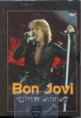正版全新DVD~邦喬飛樂 團BON JOVI / Slippery When Wet