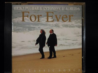 Erika Pluhar ~For Ever -  永遠女低音吟唱曲輯,550元,保存良好。