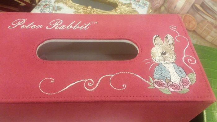 彼得兔面紙盒