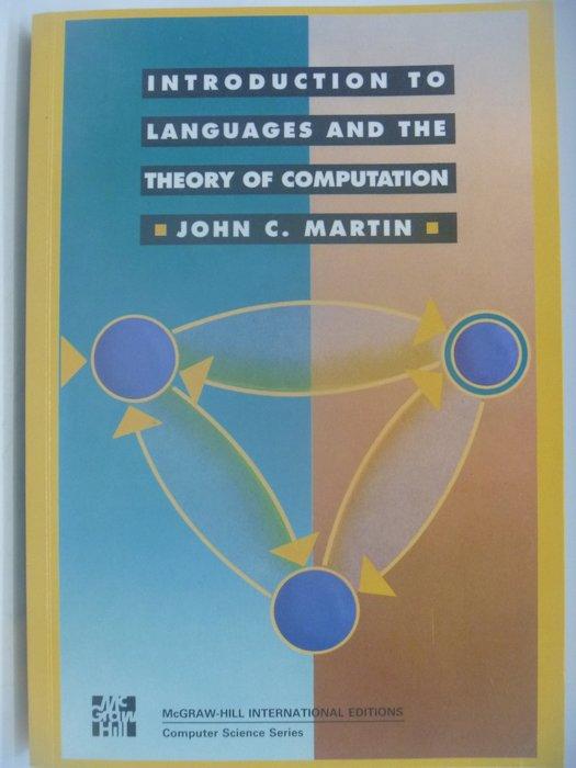【月界】Introduction to Languages ...Computation_Martin〖大學資訊〗AIU