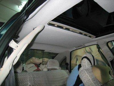 [鋒亞隔熱紙]汽車頂蓬換新.天窗維修.漏水處理.前檔車身隔熱紙更換.裝貼'玻璃修補.換新