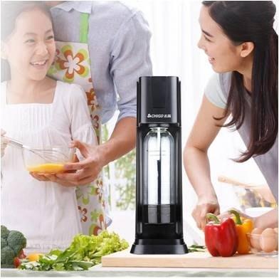 蘇打水機奶茶店商用氣泡水機便攜式家用自制飲料汽水氣泡機igo