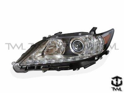 《※台灣之光※》全新LEXUS凌志ES350 13 14 15 16 17 18年HID原廠型R8光條晶鑽魚眼投大燈頭燈