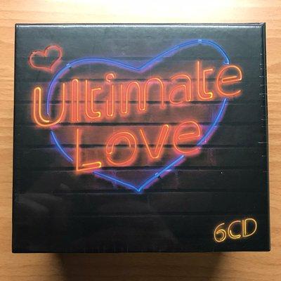 全新未拆封 絕版 最愛金曲 6CD 90首 英文流行經典合輯 環球唱片發行 原曲原唱