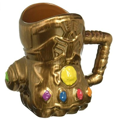 【丹】A_Marvel Infinity Wars Gauntlet Shaped 薩諾斯 手套 馬克杯 杯子