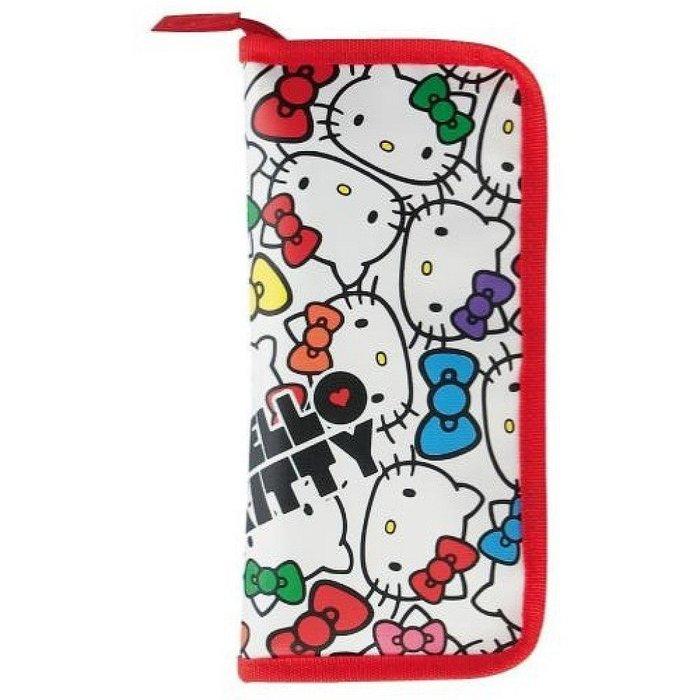 ^燕子部屋 ^【Hello Kitty 】 不織布嬰兒餐具收納包