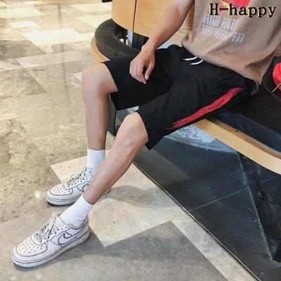 哆啦本鋪 短褲男 休閒短褲 中褲 寬鬆 5分 運動馬褲 五分褲 休閒 沙灘褲 D655