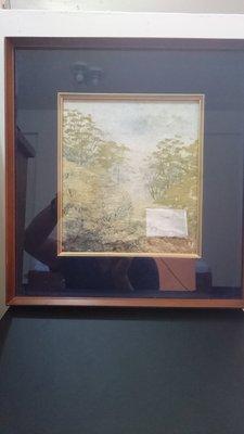 日本美術品 小原和紙工藝家 山内一生作 (新綠)