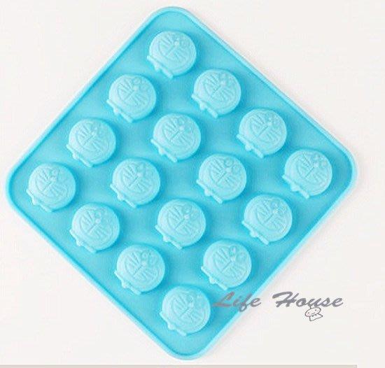 16孔 叮噹矽膠模 4連手工皂模/巧克力模/布丁模/果凍模/雪糕模-食品級環保矽膠模  -現貨