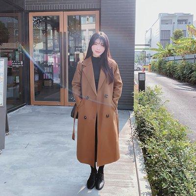 【ZEU'S】韓國雙面毛呢大衣『 02220911 』【現+預】AB