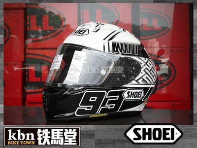 ☆KBN☆鐵馬堂 現貨 日本 SHOEI X14 全罩 安全帽 SNELL 鏡片快拆 內襯可拆 MARQUEZ 4 選手