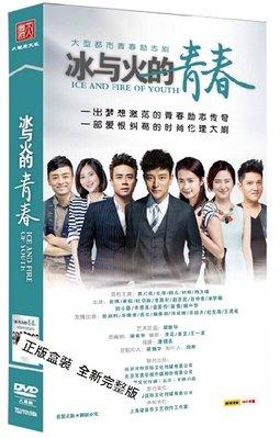 中國電視劇 冰與火的青春 旗艦版 8DVD 賈乃亮