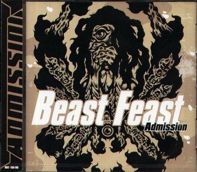 K - Beast Feast ADMISSION - 日版 2CD - NEW   BATCAVE CALIBAN
