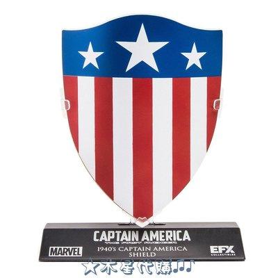 【木星代購】《美國代購 Marvel 美國隊長 1940年 造型 1/6 盾牌 擺飾 預購》景品公仔12吋漫威復仇者聯盟