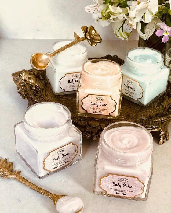 香氛SABON 清爽保濕凝凍 身體乳 身體乳液 經典PLV 綠玫瑰 橙花 茉莉 綠玫瑰 正貨