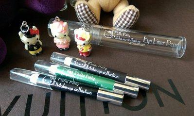 《HELLO KITTY》日本製 超可愛公仔眉筆 三款三色 實品如圖 詳見敘述~