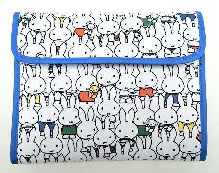 ☆Juicy☆日本 Miffy 米飛兔 米菲兔 漫畫 卡通 多功能護照夾 收納包 母子手帳包 平板套 手帳包 3016