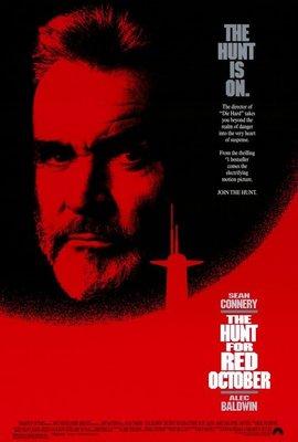 經典收藏 - 獵殺紅色十月 (The Hunt for Red October) - 美國原版電影海報 (1990年)