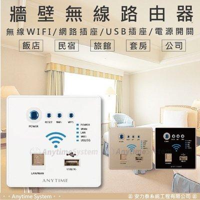 │安力泰網路智能館│86型 牆壁式 無線路由器 分享器 開關插座面板/電腦插座/USB插座/3G網卡/信號中繼