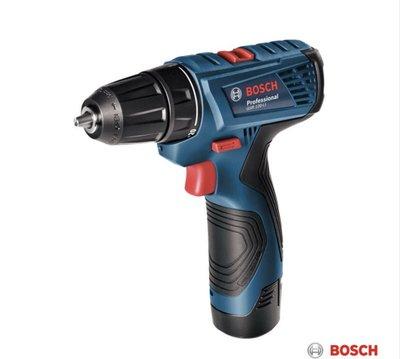 胖達人五金 博世 BOSCH GSR 120-Li 12V鋰電電鑽/起子機(雙1.5AH電池) GSR1080改款