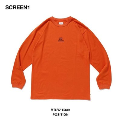 ☆AirRoom☆【現貨】2019AW WTAPS POSITION L/S 目錄隱藏款 長T TEE 現貨