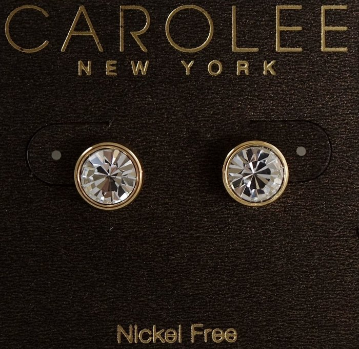 全新美國帶回 CAROLEE 單顆閃亮極簡款穿式耳環,很醒目喔!附原廠防塵袋與禮盒,只有一件!低價起標無底價!免運費!