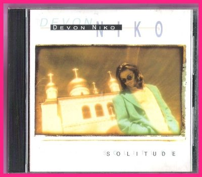 CD-DEVON NIKO-SOLITUDE[孤寂]附歌詞4張-加拿大1995製造-有極少許輕微細紋---
