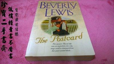 【珍寶二手書齋FAB】The Postcard 作者:Lewis, Beverly,