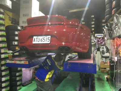 245/35/20 米其林 305/30/20 PS4S 保時傑 991 GTS 單孔螺絲 20吋鋁圈 991GT3