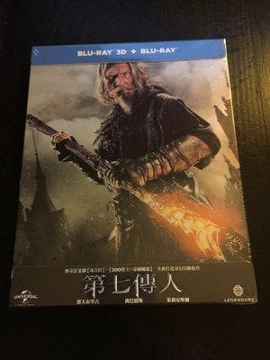 (全新未拆封)第七傳人 Seventh Son 2D+3D 限量鐵盒版藍光BD(傳訊公司貨)限量特價