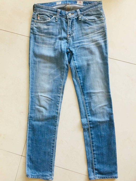 AG Jeans Legging 刷色貼腿牛仔褲 修身顯瘦