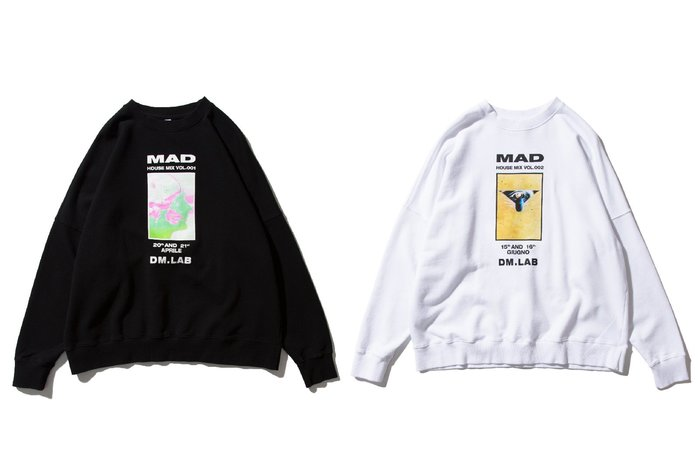 """[ LAB Taipei ] DeMarcoLab """"MAD HOUSE MIX SWEATER"""""""