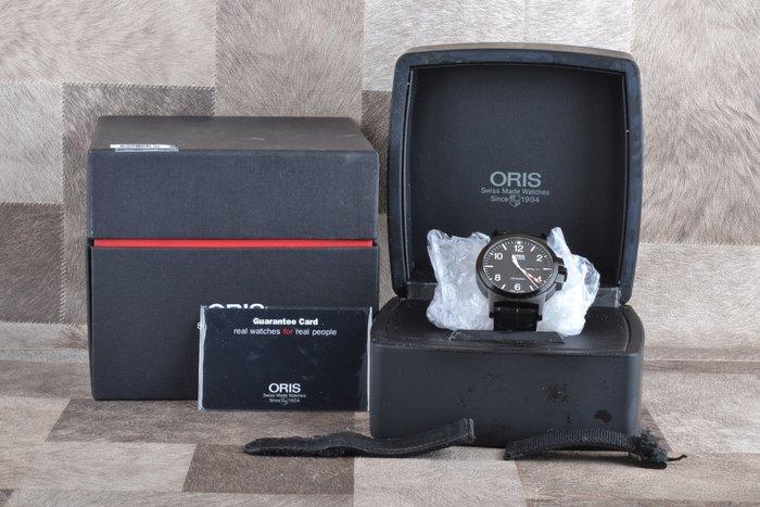 【高雄品光數位】Oris Air Racing Edition III BC3限量機械腕錶-黑 公司貨 #67248