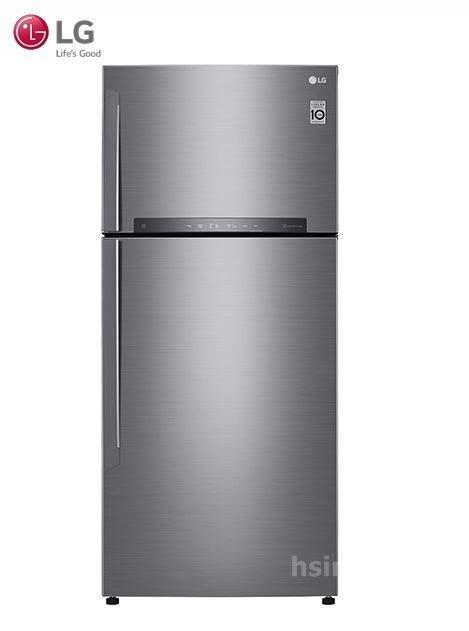 *~新家電錧~*【LG樂金 GN-HL567SV】525公升 Smart直驅變頻上下門冰箱 星辰銀【實體店面】