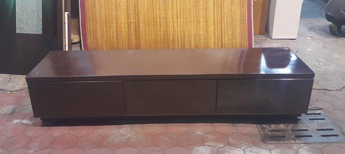 樂居二手家具 全新中古傢俱家電賣場 A0310EJ 胡桃色七呎電視櫃*矮櫃 TV櫃 置物櫃 收納櫃