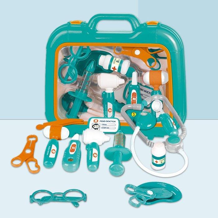 衣萊時尚-海底小縱隊兒童過家家醫生玩具套裝女孩男孩打針工具箱切切樂披薩(規格不同價格不同)