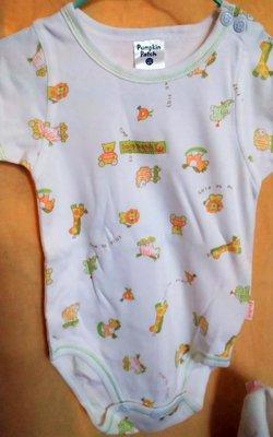 【Pumpkin Patch】Little BABY #小嬰兒 #身高68cm #短袖連身內著兔 #兩件