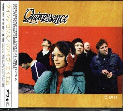 (甲上唱片) Quintessence - 5 Am - 日盤+2BONUS