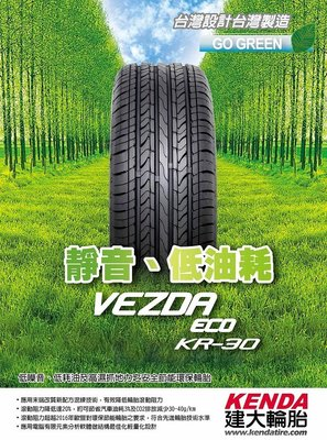 【彰化小佳輪胎】建大 205/55/16 KR30