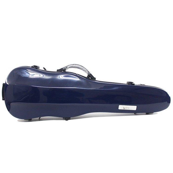 【三益琴行】寶藍色小提琴硬盒