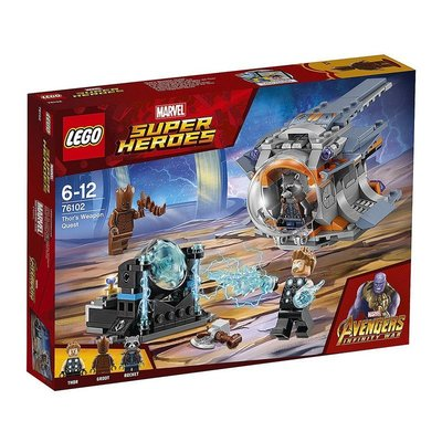 LEGO 樂高 76102 (樂高熊) 超級英雄系列 Thor's Wcapon Qucst 全新未拆 保證正版