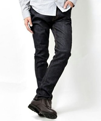 Cover Taiwan 官方直營 HARE 小直筒 牛仔褲 丹寧原色藍 赤耳 未脫漿 養牛 養褲 修身 日本 (預購)