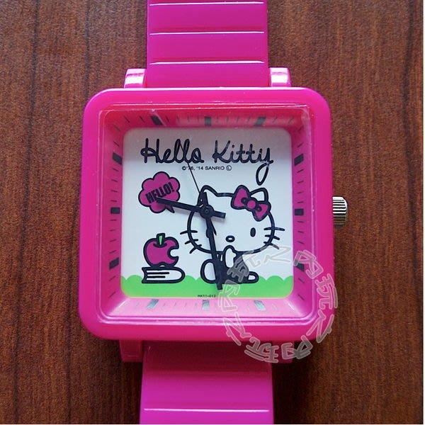 現貨出清特價👍日本KITTY方形個性手錶 手表(桃)064711【玩之內】進口正品