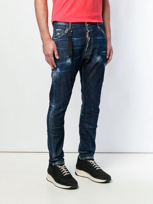現貨【DSQUARED 2】2019春夏 深色水洗CLASSIC KENNY TWIST牛仔褲 *30%OFF*