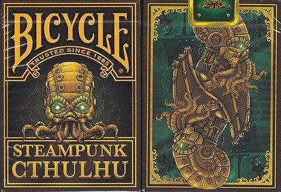 【USPCC 撲克】BICYCLE Steampunk Cthulhu 紀念 撲克牌