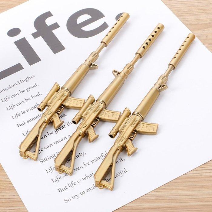 創意小物 卡賓槍造型筆 中性筆 文具 原子筆 創意文具 模型 生日 學生 禮物 筆 槍【HS06】