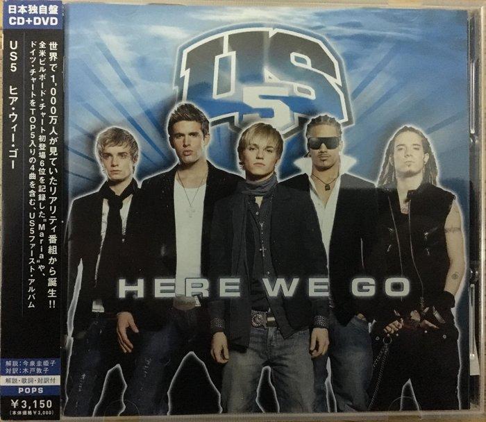 《進口全新》US5 Here We Go NEW EDITION 風雲再起 CD +DVD