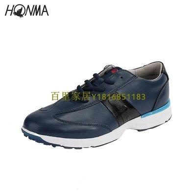 百里家居HONMA高爾夫球鞋春季新款運動防水golf球女子時尚透氣休閑運動鞋